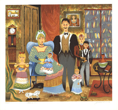 Lee Dubin, 'Family Portrait', 1985