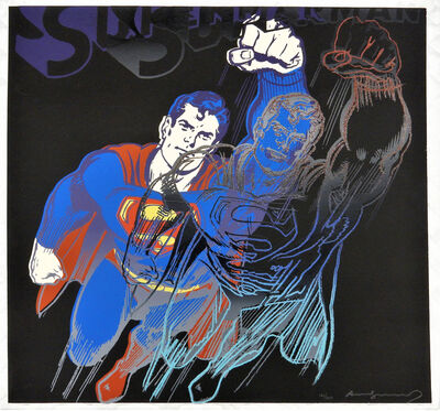 Andy Warhol, 'Myths: Superman', 1981