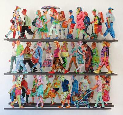 David Gerstein, '5th Avenue J', 2016