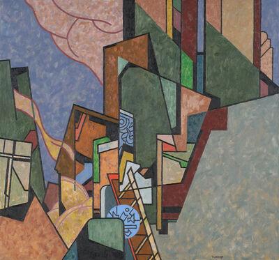 Easton Pribble, 'Urban Construction #3', 1989