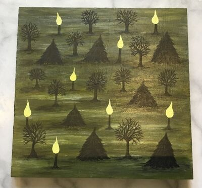 Sheila Barcik, 'Candle Trees', 2019