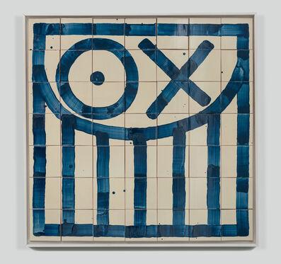 André Saraiva, 'Square Mr. A Tile 7', 2018