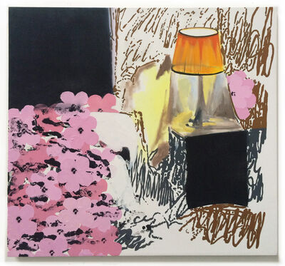 Dexter Dalwood, 'Too many flowers', 2015