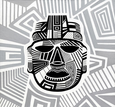 Daniele Locci, 'Guerriero Maya', 2019