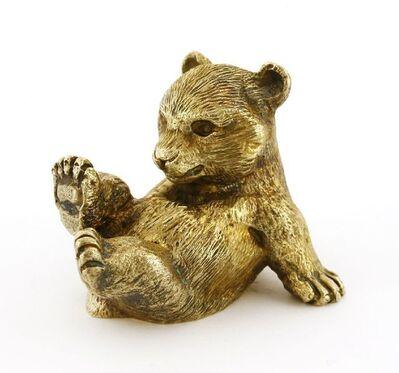 Stuart Devlin, 'A silver gilt bear cub paperweight', 1976