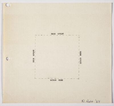 Nancy Holt, 'Detach Here', 1967