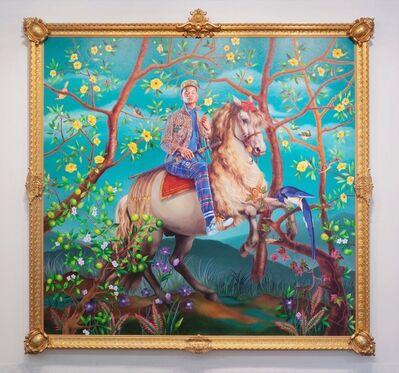 Kehinde Wiley, 'Equestrian Portrait of Philip III', 2016