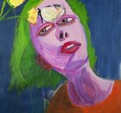 Gimena Herrera, 'Chica y mariposa (sincronismo)', 2018