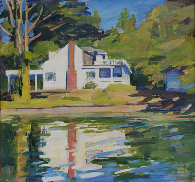 Kurt Solmssen, 'Gwen's House from the Boat', 2018