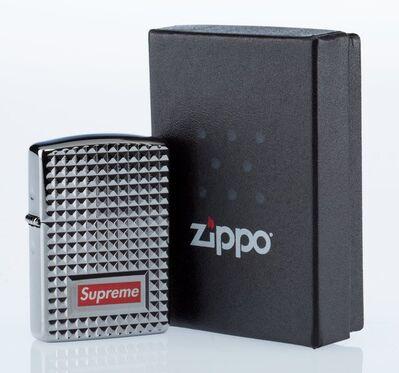 Supreme X Zippo, 'Diamond Cut Lighter (Silver)', 2017