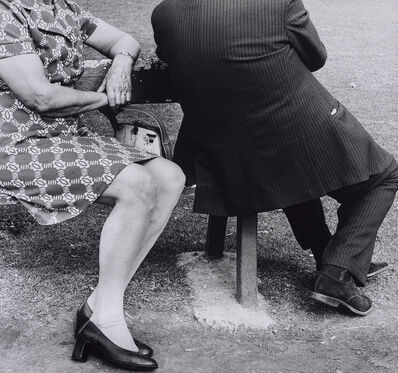David Goldblatt, 'Couple on a Sunday afternoon, Zoo Lake, Johannesburg (2_24182), 1975', 1975