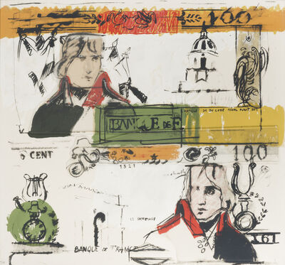 Larry Rivers, 'Double French Money', 1965