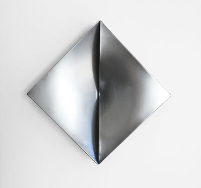 Jan Maarten Voskuil, 'Non-Fit Triangles Chrome', 2017