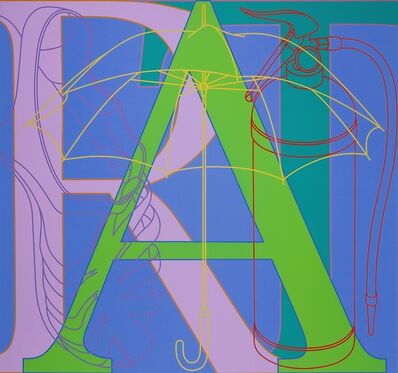 Michael Craig-Martin, 'Untitled (ART)', 2007