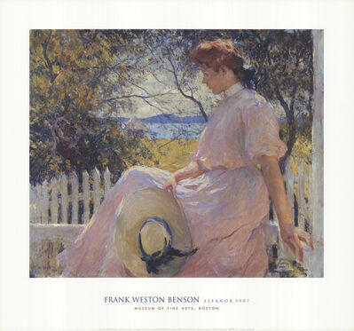 Frank Weston Benson, 'Eleanor', 2002