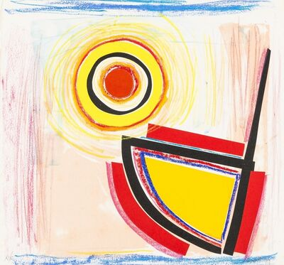 Sir Terry Frost, 'Sun and Boat (Kemp 135)', 1992-1996