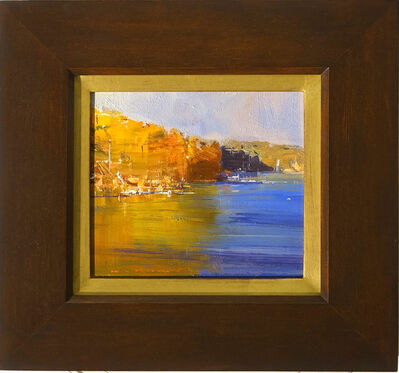 Ken Knight, 'Blue and Gold, Harbour Headland', 2018