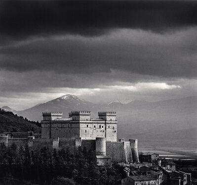 Michael Kenna, 'Piccolomini Castle, Celano, Abruzzo, Italy', 2016