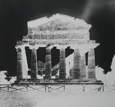 Vera Lutter, 'Temple of Athena, Paestum XIII: October 13', 2015