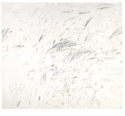 Cy Twombly, 'Study for Presence of a Myth', 1959