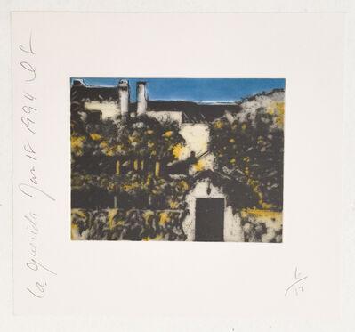 Donald Sultan, 'La Guerida (b)', 1994
