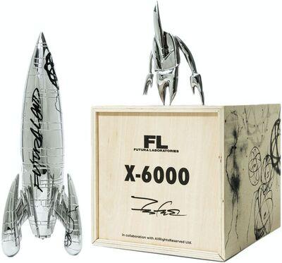 Futura, 'X-6000 SCULPTURE BOX SET', 2021