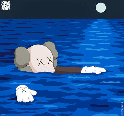 KAWS, ''What Party: Tide'', 2021