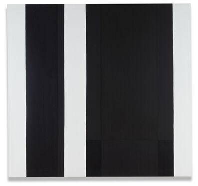 Claude Tousignant, 'Verticales blanches et noires', 1962