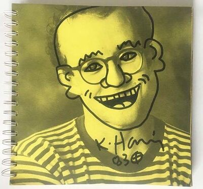 Keith Haring, '1983, Tony Shafrazi exhibit catalogue', 1983