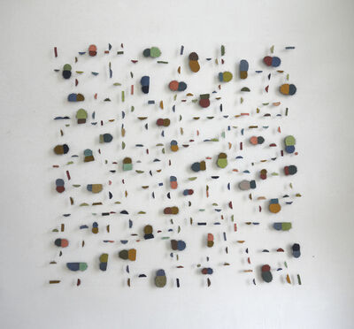 Marian Bijlenga, 'Double dots 3', 2017