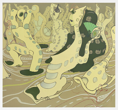 Inka Essenhigh, 'New Condos', 2016