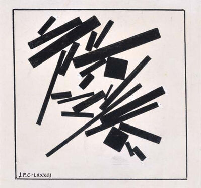 José Pedro Costigliolo, 'Rectángulos y cuadrados', 1983