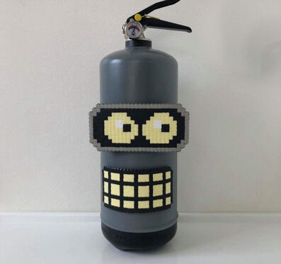 Pappasparlor, 'Bender the fire extinguisher', 2018