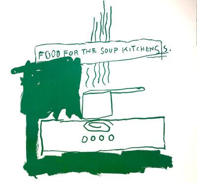 Jean-Michel Basquiat, 'Food For Soup Kitchen', 1983