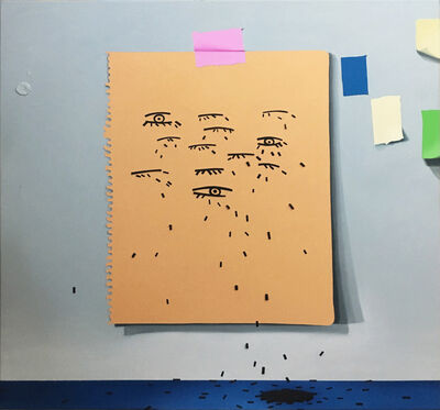 Craig Kucia, 'pattern painting #3', 2018