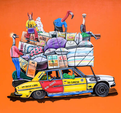 Abdias Ngateu, 'Taxi climatisé', 2021