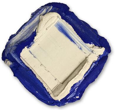 Bram Bogart, 'White/Blue', 1988