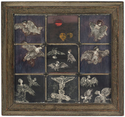 Betye Saar, 'Window of Sirens', 1966