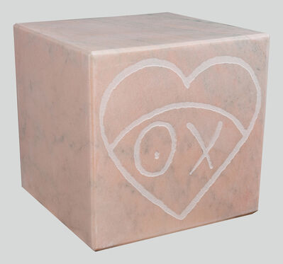 André Saraiva, 'Mr. A Pink Marble Cube 35 cm 2', 2018