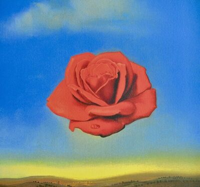 Salvador Dalí, 'Rose méditative', ca. 1980