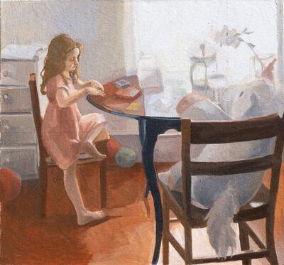 Sara Fletcher, 'Card game with a unicorn', 2019