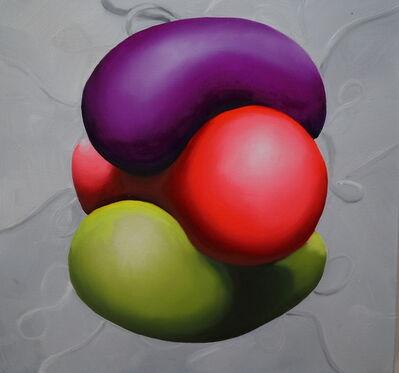 Brian Bonebrake, 'Three different colors together', 2015
