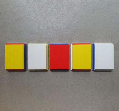 Imi Knoebel, 'Tag und Nacht III E1-E5', 1998