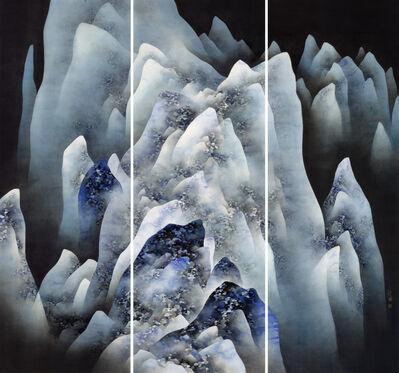 Chan Keng Tin 陳鏡田, 'Cold Mountains', 2018