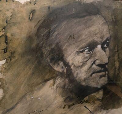 Ernest Pignon-Ernest, 'Wagner', 1988