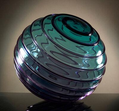 RICHARD ROYAL, ' Teal Purple Lens'