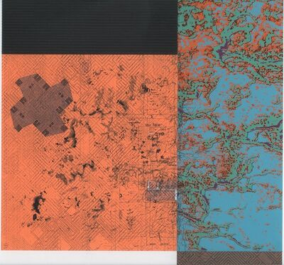 Alan Steele, 'Untitled blue and orange', 2013