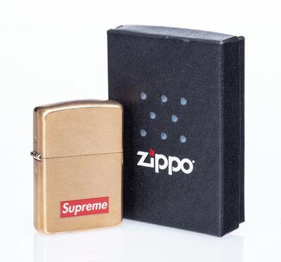 Supreme X Zippo, 'Lighter (Gold)', 2011