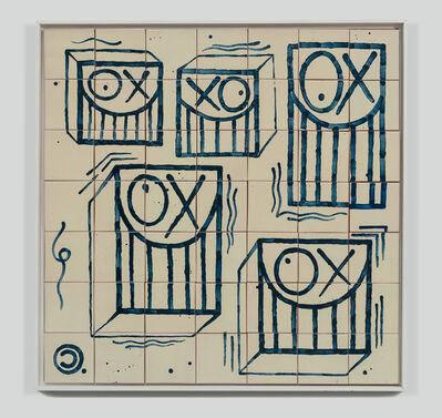 André Saraiva, 'Square Messrs. A Tile', 2018