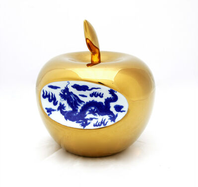 Li Lihong, 'Small Apple - gold', 2013